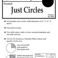 8032	Just Circles Set